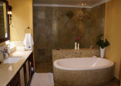 Anchor Property Group - Bath Tub Shower Basin and toilet redesign