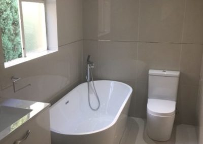 Anchor Property Group - Bathroom tub and toilet redesign