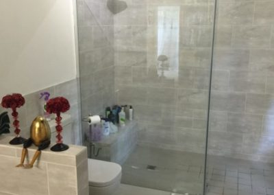 Anchor Property Group - Shower transparent door and toilet redesign